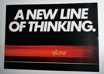 V/line Booklet. A New Line Of Thinking. Circa 1980s.