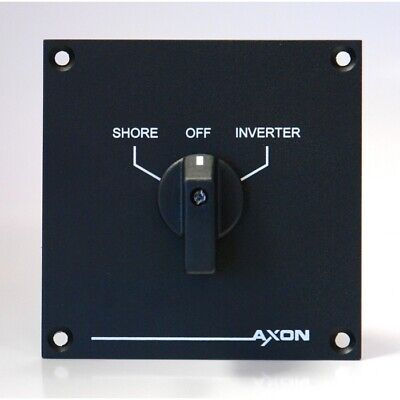 Shore to Inverter Switch-Over Panel