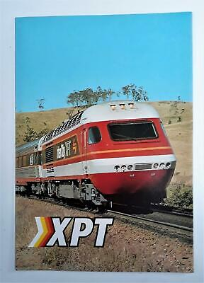 XPT Advertising Fold Out Brochure. State Rail Authority Of New South Wales c1982