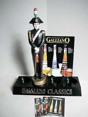 Vintage Galliano Classics Display with Italian Soldier