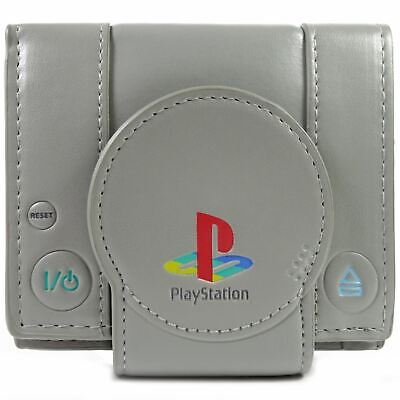 Official Sony Playstation One Console Grey Coin & Card Wallet *SECOND*