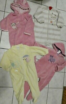 Huge bundle girl's winter used clothing all size 0 - 4 items appr $4.40  ea