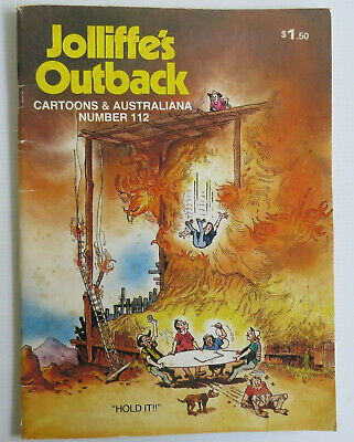 •|VINTAGE JOLLIFFE'S OUTBACK 112 With Saltbush Bill AUSTRALIANA COMIC HUMOUR|•