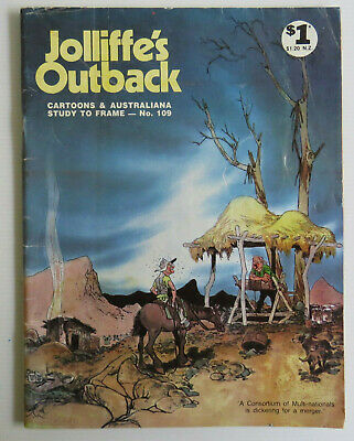 •|Vintage JOLLIFFE'S OUTBACK 109 With Saltbush Bill AUSTRALIANA COMIC HUMOUR|•