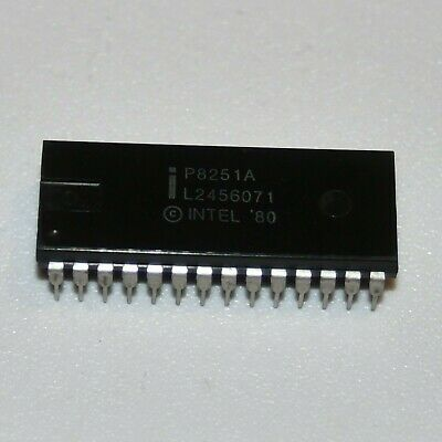 Intel P8251A Programmable Communication Interface DIP28