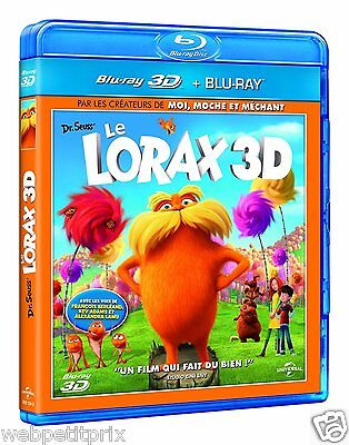 Ultra Promo  Le Lorax BLU-RAY 3D ACTIVE + BLU-RAY - VF - NEUF