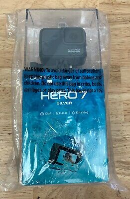 GoPro Hero 7 10MP 4K30 1080p60 - Silver | Brand New