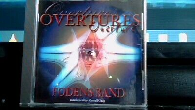 Fodens Band Overtures Classic Brass Near Mint Speedy Uk Post
