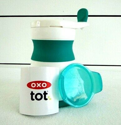 OXO Tot Mash Maker Baby Food Mill TEAL