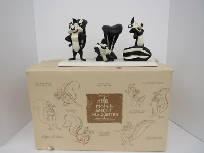 Model Sheet Maquettes Pepe Le Pew Statue Warner Bros 1996 Looney Tunes #871/2500