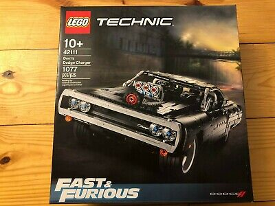 LEGO 42111 Technic FAST /& FURIOUS DOM/'S DODGE CHARGER 4//27 FREE SHIPPING SEALED
