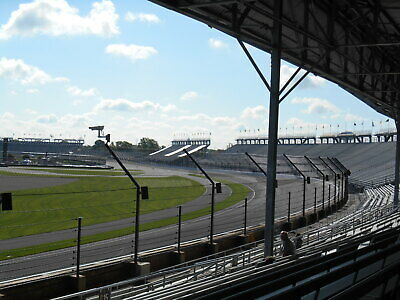 Indianapolis 500 Indy 2020  Stand B First Turn  Next To Top Row  Aisle Seats