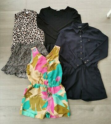 Next Girls Mixed Playsuits Sets Skirt Dress Top Bundle Age 10 Years