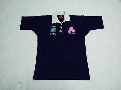 Japan Rugby RWC 1999 Canterbury of New Zealand Vintage Alternate Jersey Shirt