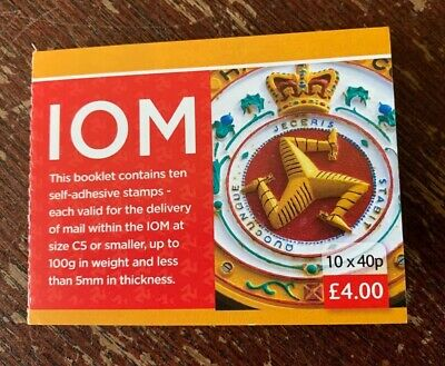 Isle of Man - 2013, The Three Legs of man booklet, 10x40p Self-Adhesive