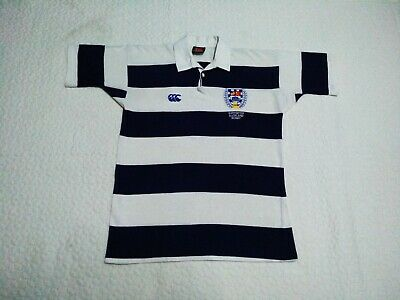 Auckland Rugby Football Union Canterbury of New Zealand Rugby Jersey Shirt