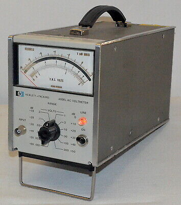 HP 400EL AC Voltmeter *Used* Hewlett Packard
