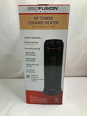 Profusion 19 Tower Ceramic Heater with Oscillation