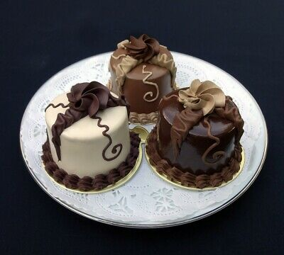 NEW! Ribbons and Roses Chocolate Mini Cakes