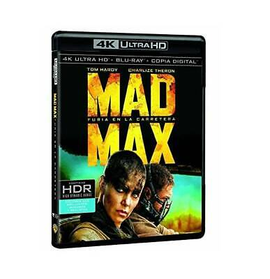 Mad Max: Furia en la Carretera Ultra HD Blu-ray (SOLO DISCO DE BLU-RAY 4K)