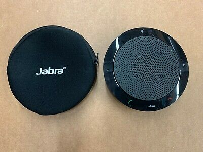 Jabra Speak 410 Corded Speakerphone Portable USB SKYPE VoiP Black