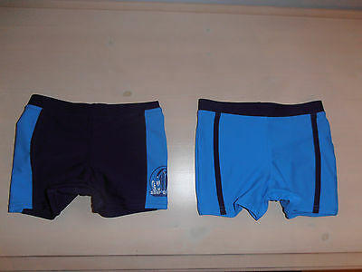Two pairs of Boys Swimming Trunks size 1.5 to 2 Years. NEW