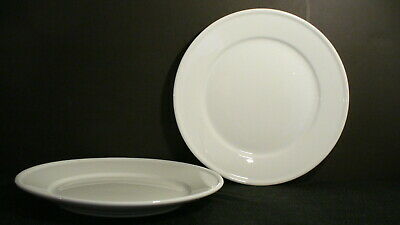 """Williams Sonoma White Pantry Essential 11"""" Dinner Plates- 2 (multiple available)"""