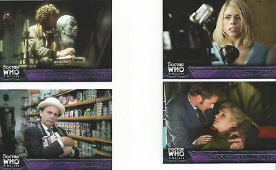 100 Basic / Base Card Set Doctor Who Timeless 2016 Tennant Piper Baker Smith
