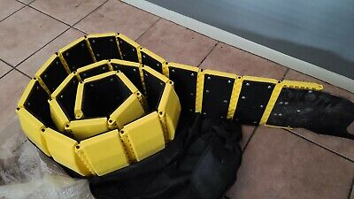 Tapco 3192-00001 Traffic Guard Portable Speed Bump with Carrying Bag 10'
