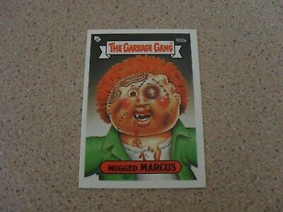 The Garbage Gang series 3 (AUS SERIES) 102A MUGGED MARCUS card