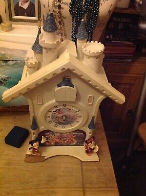 Bradford Exchange Disney's Happiest of Times Cuckoo Clock Spares or Repairs
