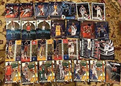 2019-20 Donruss Optic Basketball Base Insert Rated Rookie LOT LeBron Curry