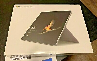 Microsoft Surface Go 64GB / 4GB RAM / Model 1824 / Wi-Fi / Silver / NEW