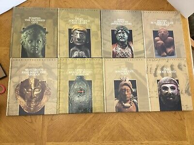 Time-Life Books Lost Civilizations Lot of 8 Historical HC Books VG, 1992