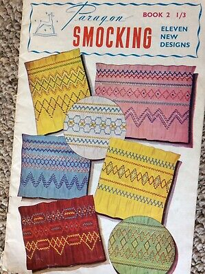 Vintage Paragon Smocking Book 2 - Eleven Designs
