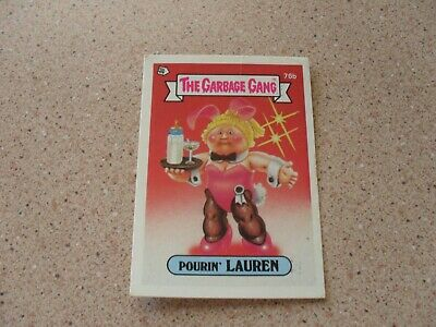 The Garbage Gang series 2 (AUS series) 76B POURIN' LAUREN