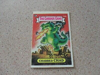 The Garbage Gang series 2 (AUS series) 54B CHARRED CHAD