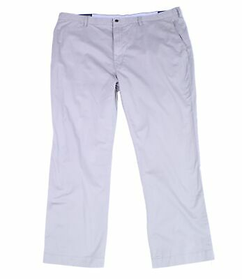 Polo Ralph Lauren Mens Pants Gray Size 48x34 Chinos Classic-Fit Stretch $98 057