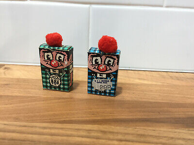 Match boxes scottish figures ideal for collectors