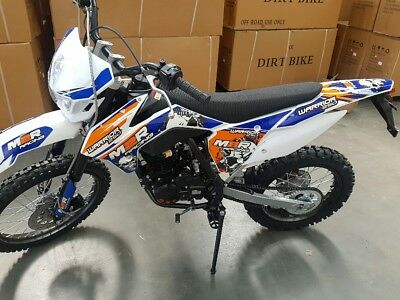 Warrior 250cc  trail bike dirt bike with headlight & tail light  rec reg ready