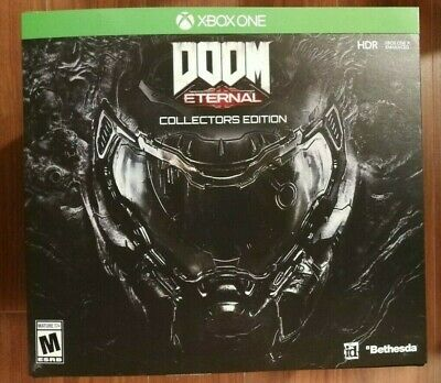 NEW SEALED DOOM Eternal Collector's Edition XBOX One