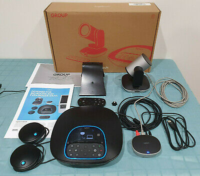 Logitech GROUP Video Conferencing System WITH 2 Expansion Microphones + Camera