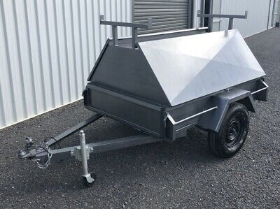 6X4 Tradesman Trailer with removable top. Good condition