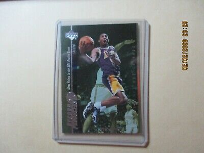 2001-02 Upper Deck Legends Record Producers Basketball Card #RP8 Kobe Bryant SP