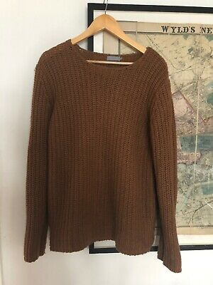 Cos Brown Jumper Size S