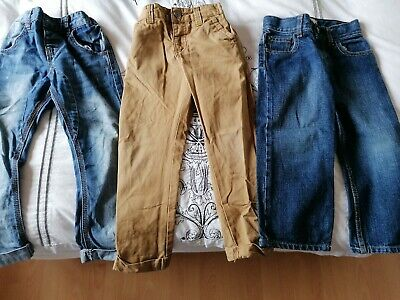 Boys Jeans & Chino Bundle Size 3-4 Years