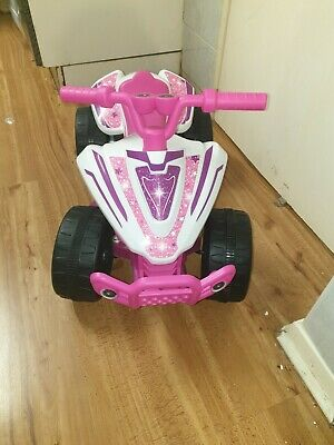 chad valley 6v pink baby/ toddler quad ride on