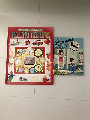 2 Childrens Books, Telling The Time