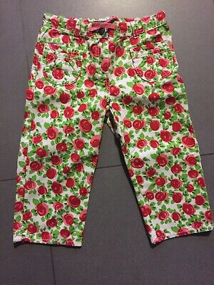 Mini Boden Girls 10Yr Cropped Trousers Worn Once