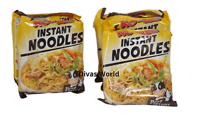 KO LEE Instant Noodles Beef Flavour Pack Of 5 x 70g Brand New EXP 2021